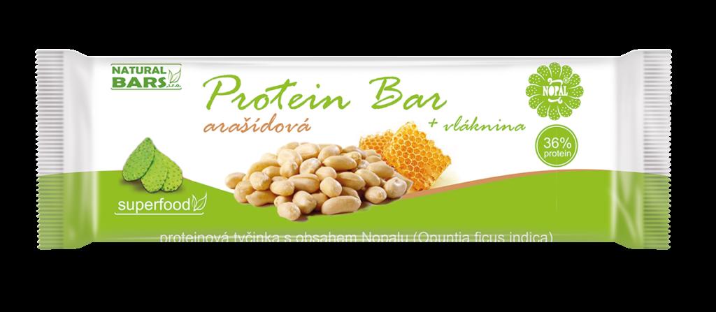 protein bar arašídy